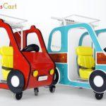 子育てママを応援!国内初のキッズ向けIoTカートを「リテールテックJAPAN」へ出展<br><b>~知育コンテンツ内蔵のタブレット搭載カートで、新たなお買い物体験を提供~</b>