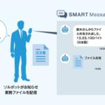 """NEOS Chat&Botをサーバ製品にライセンス提供<br><b>ビジネスチャット【SMART Message】・チャットボット【SMART Message BOT】が、サクサ株式会社の""""働き方改革サーバ""""「GF1000」で採用</b>"""
